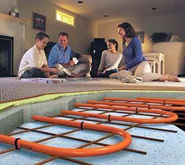 Водяной теплый пол в доме своими руками инструкция
