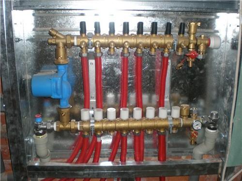 ремонт водяного теплого пола