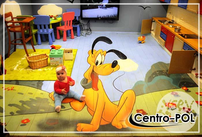 Пример пола для детской комнаты