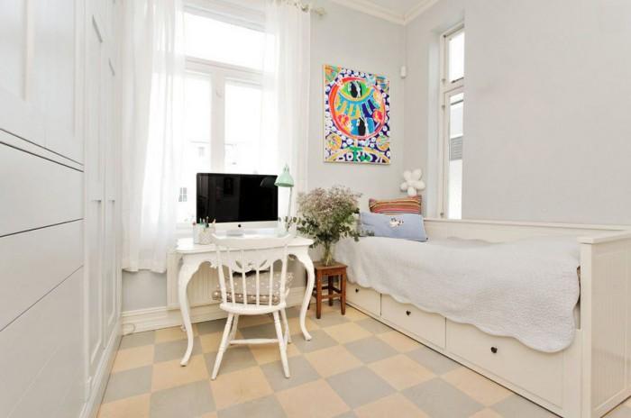 линолеум в спальне