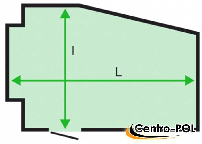 сколько метров в рулоне линолеума