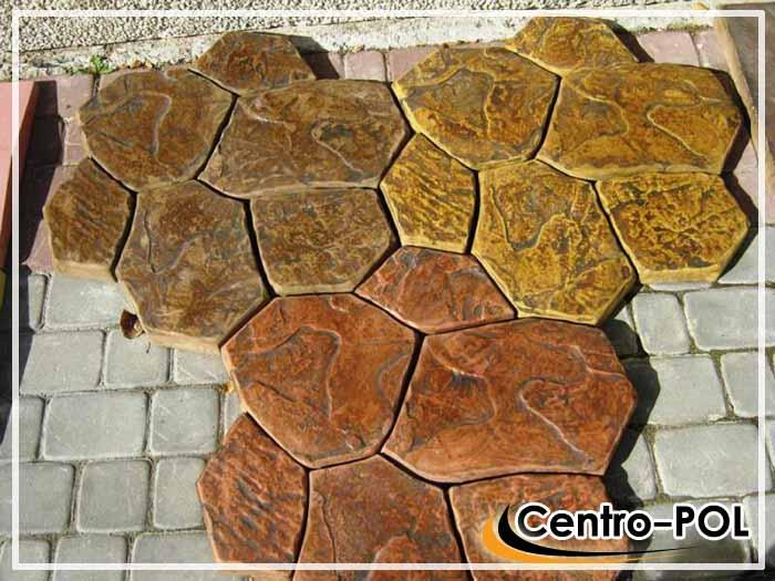 Пример каменной плитки