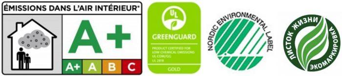 обозначения экологических стандартов