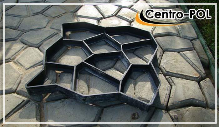 Форма опалубка для домашнего изготовления плитки