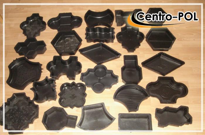 Разновидности пластиковых форм тротуарной плитки