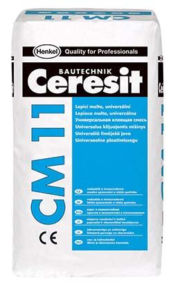 Состав плиточного клея церезит