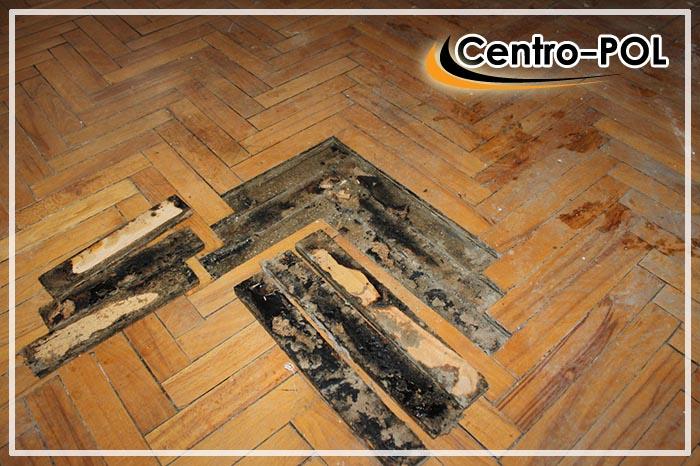 как отремонтировать полы в деревянном доме
