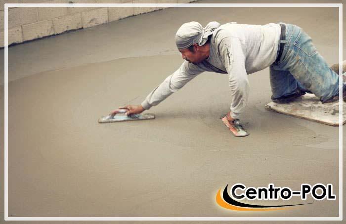 как железнить бетонный пол