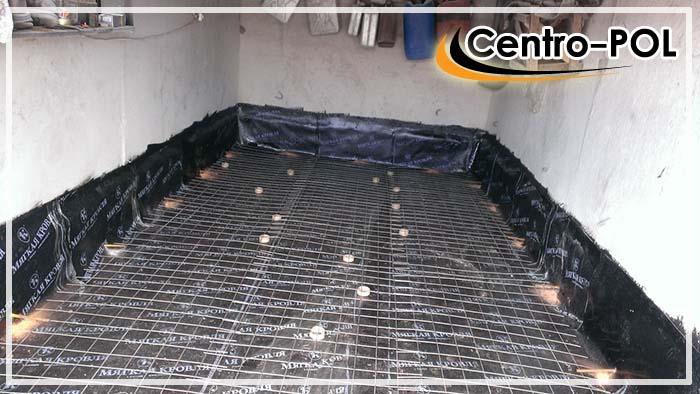 гидроизоляция пола в гараже