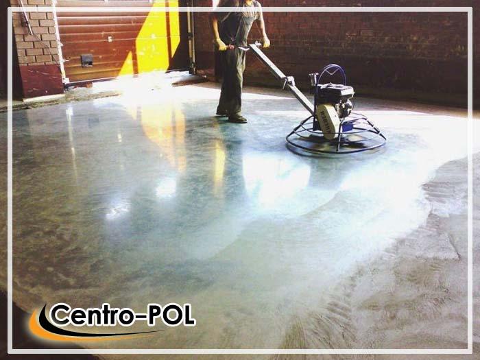 бетонные полы с упрочненным верхним слоем