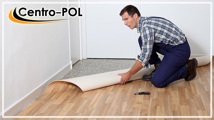 как приклеить линолеум к бетонному полу