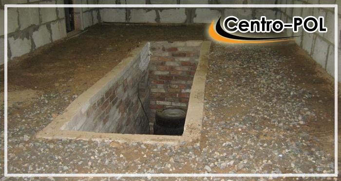 пол в смотровой яме в гараже