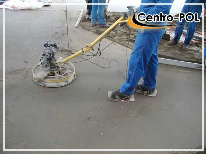 как зажелезнить бетонный пол