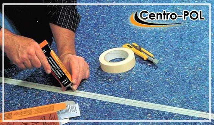 как правильно приклеить линолеум на бетонный пол