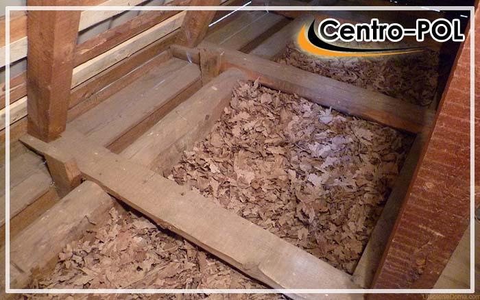 утепление пола опилками с цементом