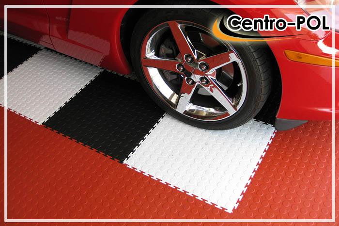 полимерное покрытие бетонного пола в гараже