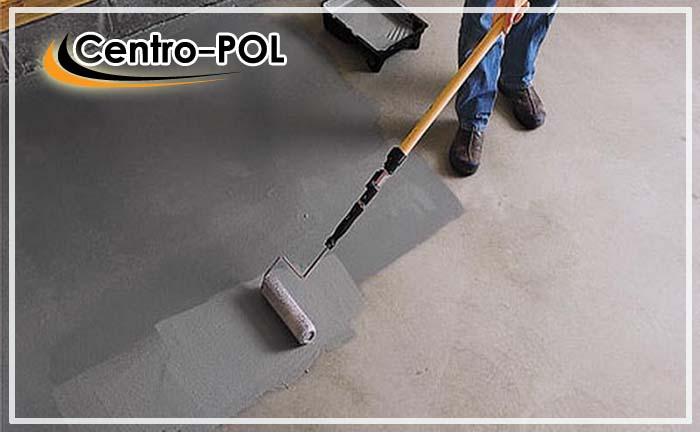 чем красить бетонный пол в гараже