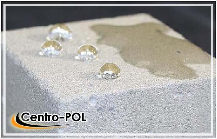 Водоотталкивающие материалы создают на поверхности непроницаемую плёнку на поверхности