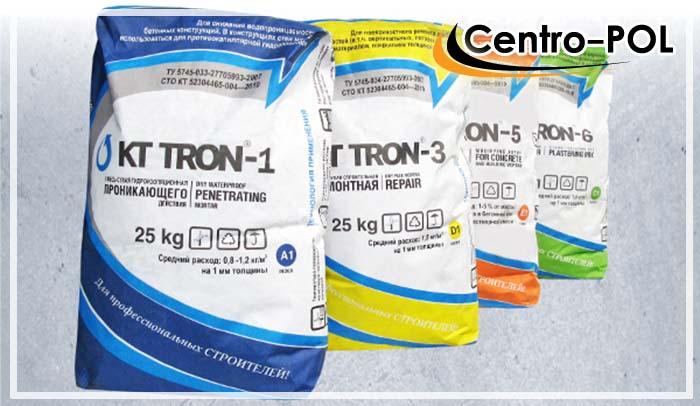KT-TRON одна из популярных сухих смесей для гидроизоляции