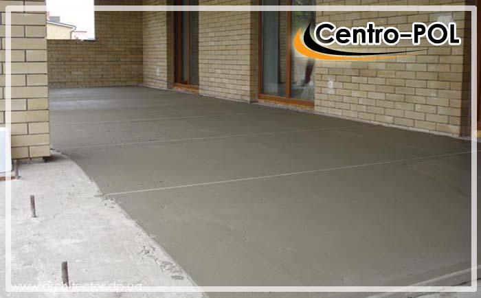 бетонный пол в частном доме видео