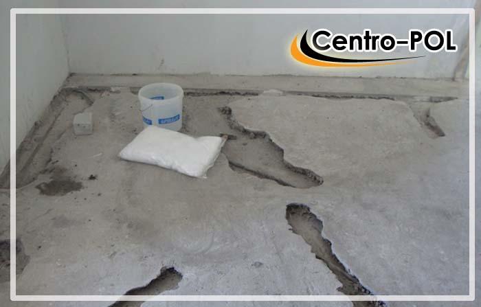 Удаление рыхлых участков бетонного пола