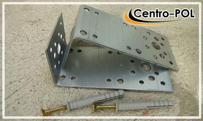 металлические уголки для установки регулируемых лаг