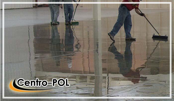 полы бетонные антипылевые