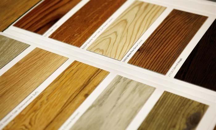 Варианты дизайна виниловой плитки с имитацией дерева