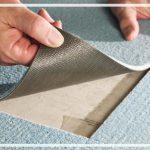 как стелить ковролин на бетон