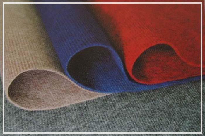 цветной ковролин без подложки