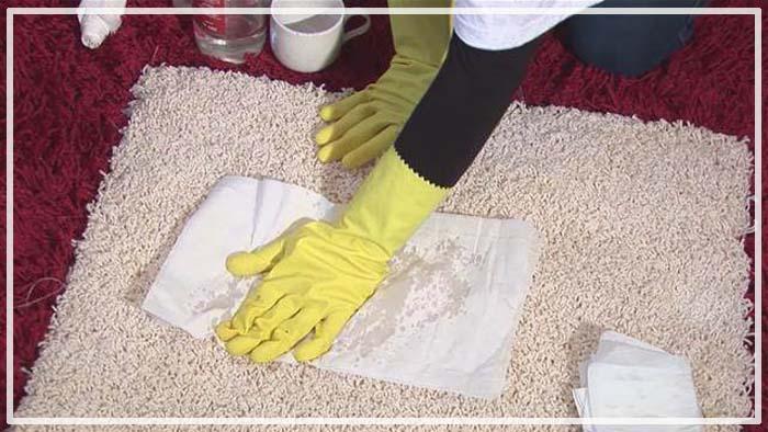 как помыть ковролин в домашних условиях