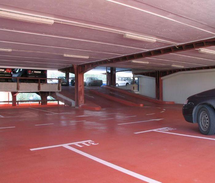 эпоксидно уретановый пол для парковки
