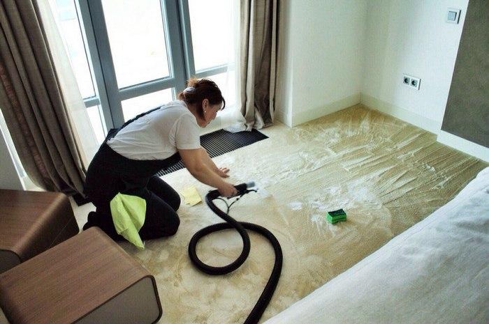 сколько стоит почистить ковролин