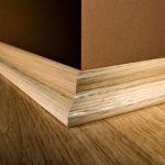 деревянные плинтуса для пола