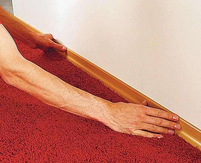 укладка ковролина своими руками видео