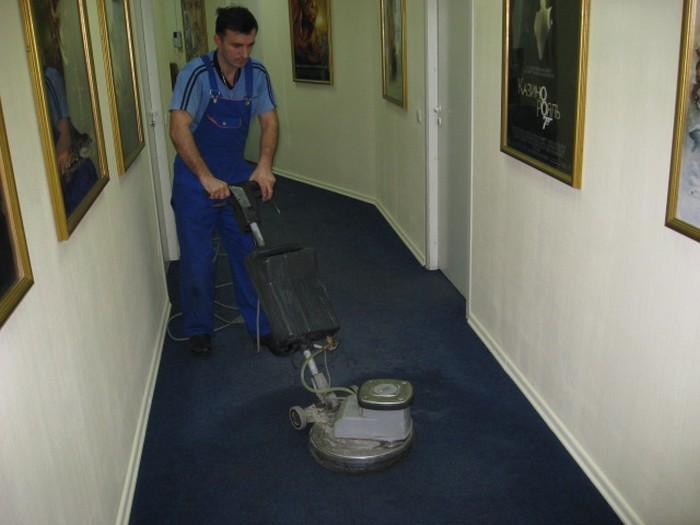 как чистить ковролин