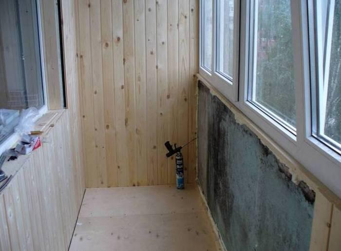 пол на балконе дачи