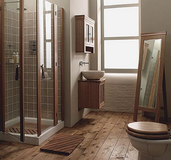 пол в ванной в частном доме