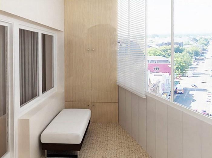 пол на открытом балконе в деревянном доме
