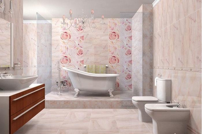 кафель на пол в ванную