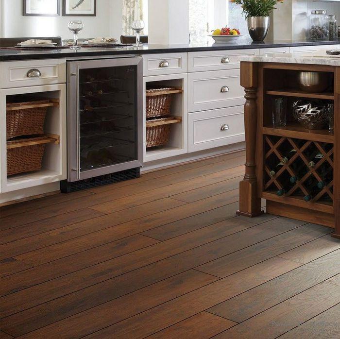 полы на кухне современные наливные своими руками