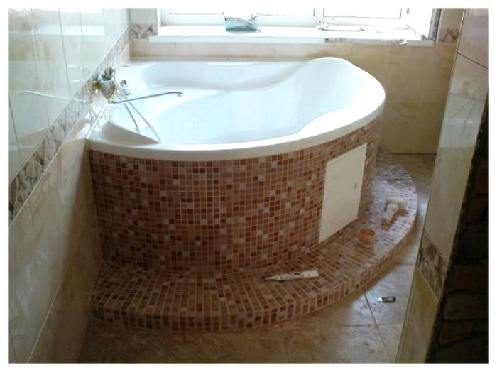 уровень пола в ванной
