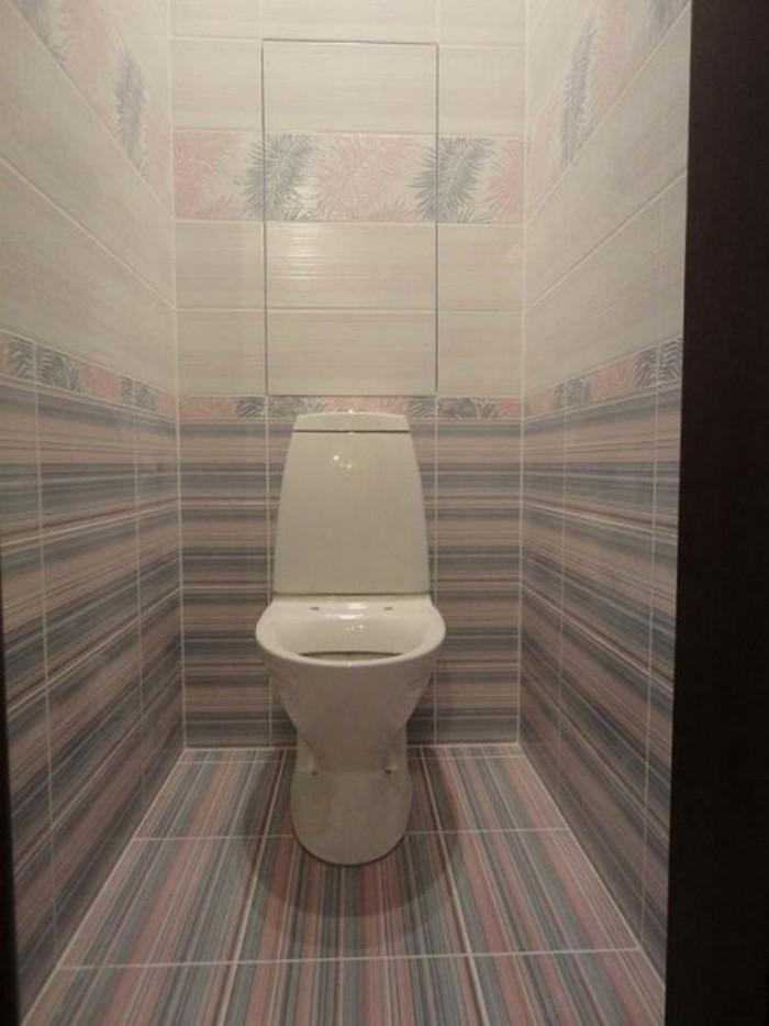 плитка на пол в туалете фото