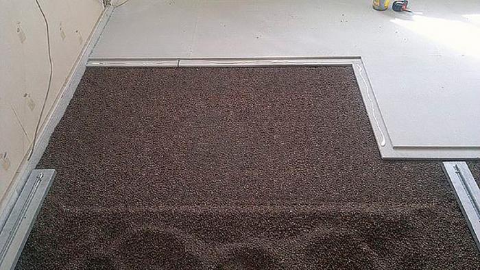 пол под плитку в частном доме