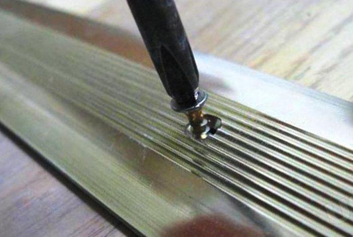 металлические пороги для пола