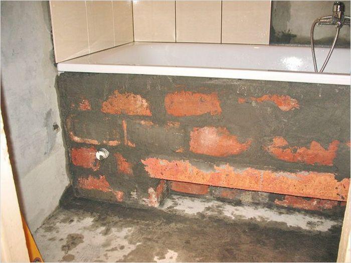 пол в ванной выше чем в коридоре