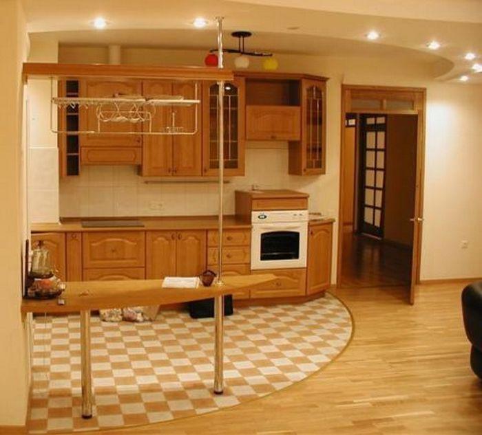полы на кухню какие лучше фото