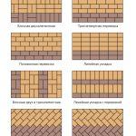Орнамент тротуарной плитки