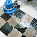 полировка керамогранита на полу