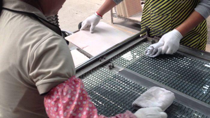 производство плитки мозаики
